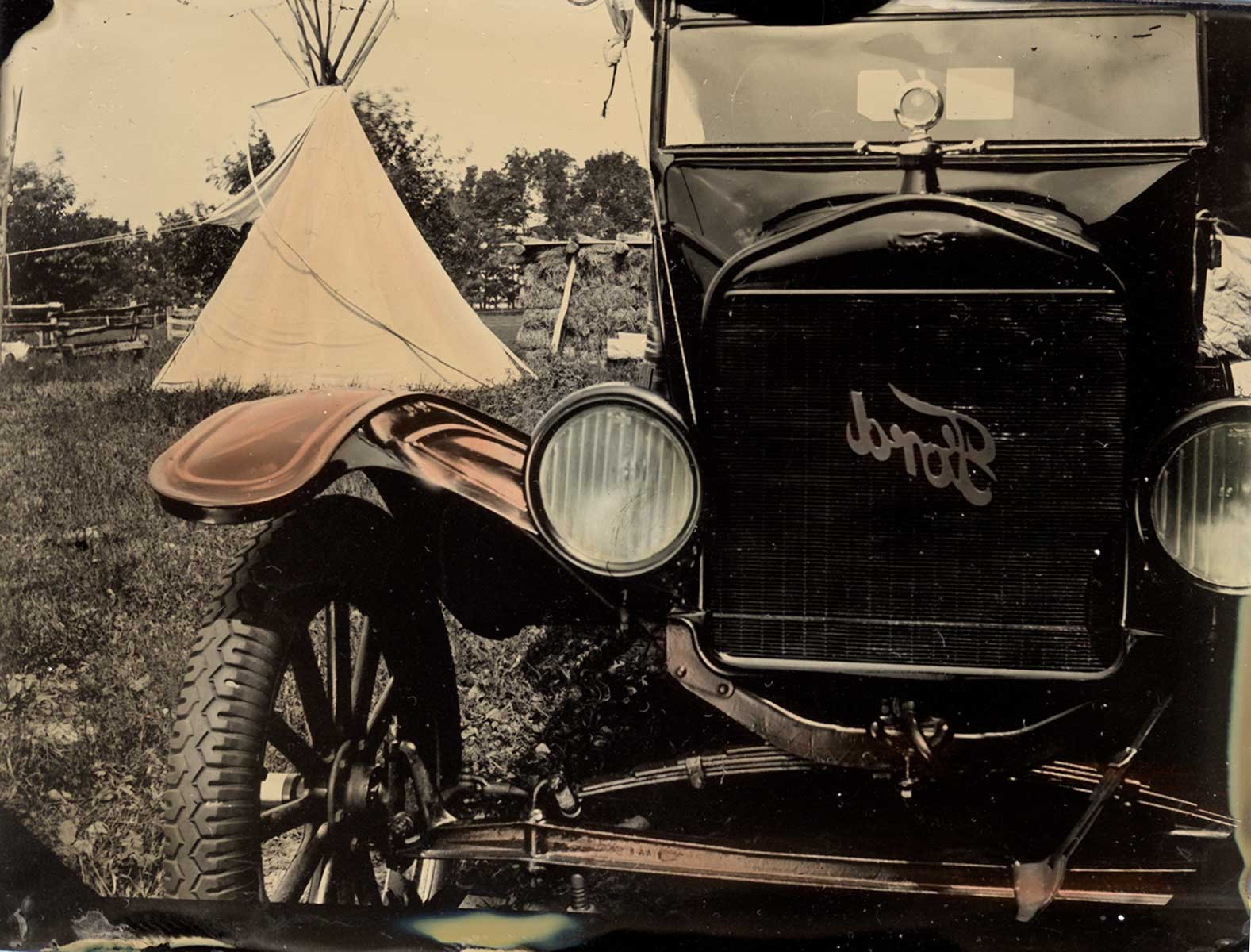 Glens Falls Art®. A Mobile Tintype Studio located between Lake George and Saratoga, NY.