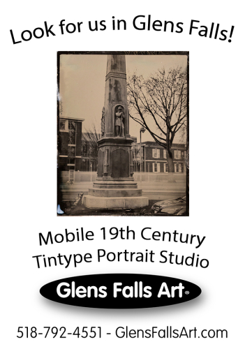 Look for Glens Falls Art® in Glens Falls City Park when Saratoga Race track is closed on