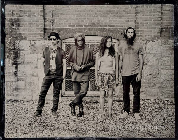 Band tintype by Craig Murphy of Glens Falls Art