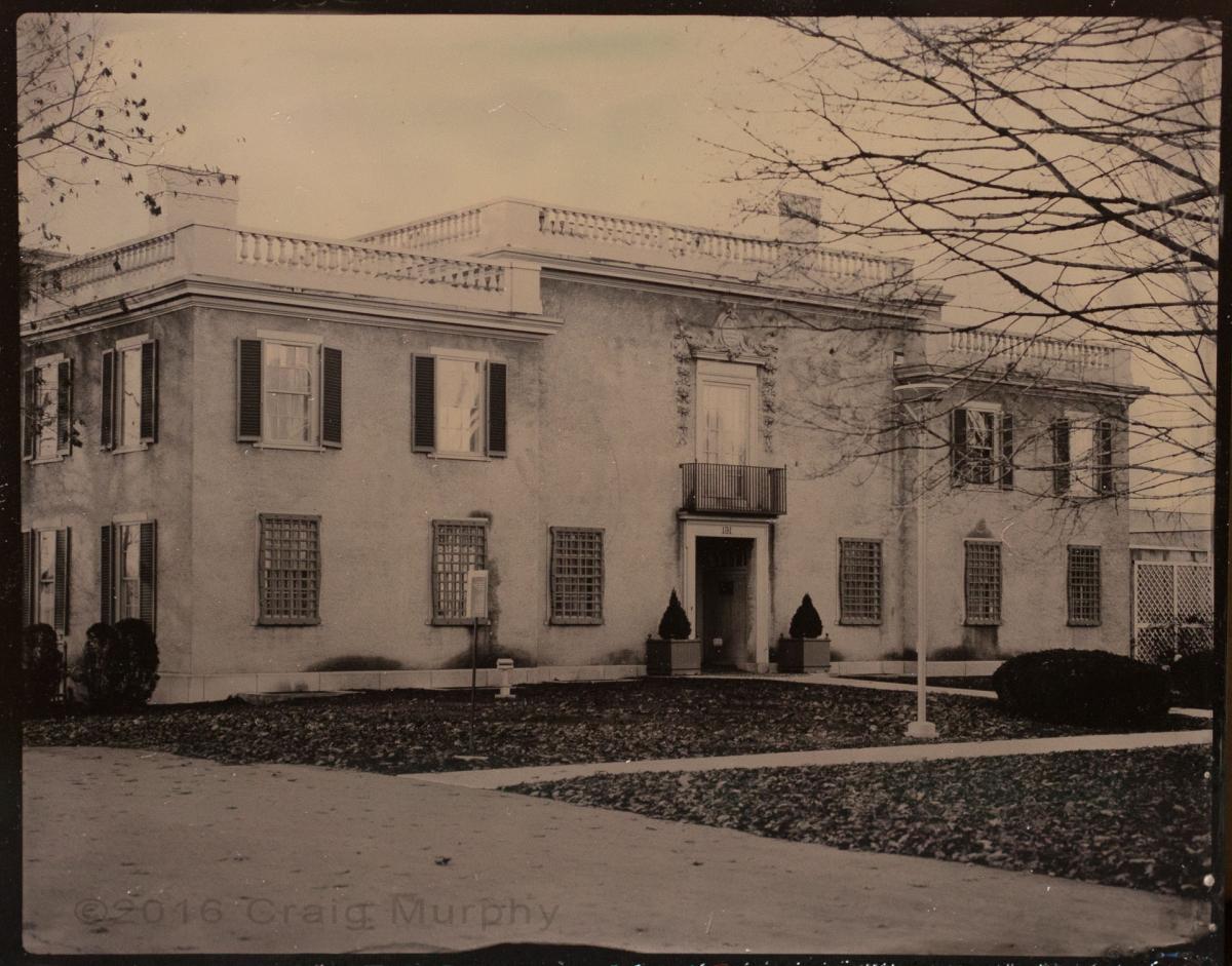Civil War era tintypes of Hyde House in Glens Falls, NY Photographer Craig Murphy.
