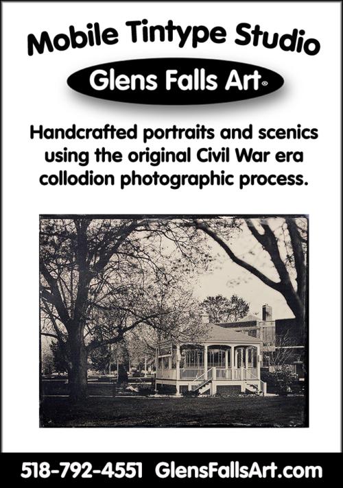 Glens Falls Art tintype Glens Falls NY