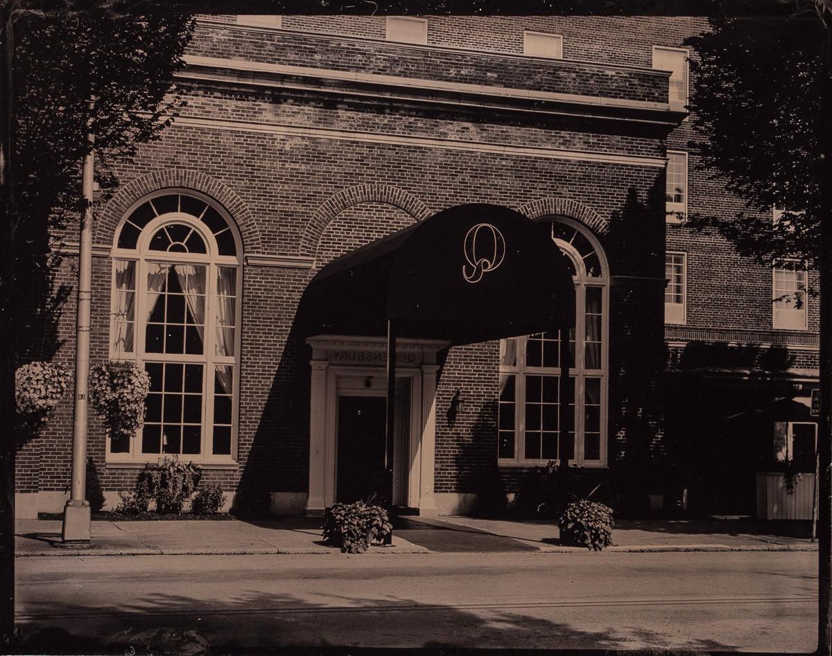 Glens Falls Art tintype studio | Glens Falls NY. Tintype of City Park gazebo Glens Falls NY