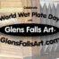 Glens Falls Art logo sign for world wet plate day